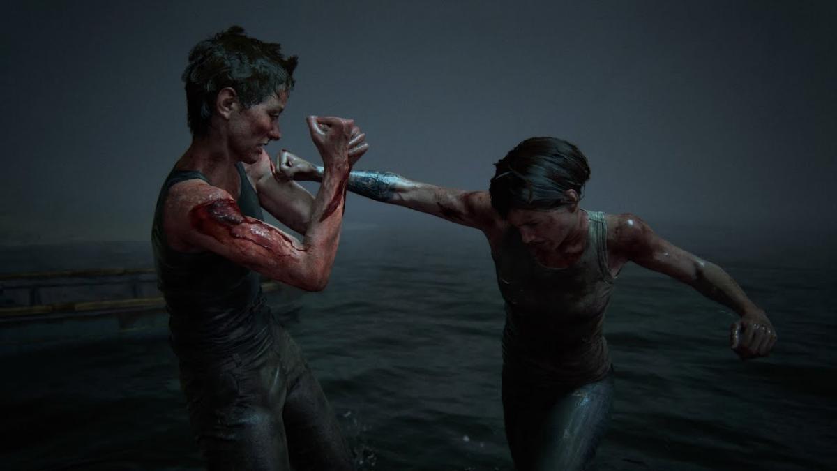 Финальная сцена драки Эбби и Элли / фото gamerant.com