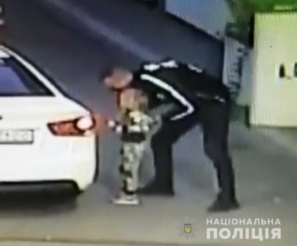 Злоумышленник задержан/ фото Нацполиция