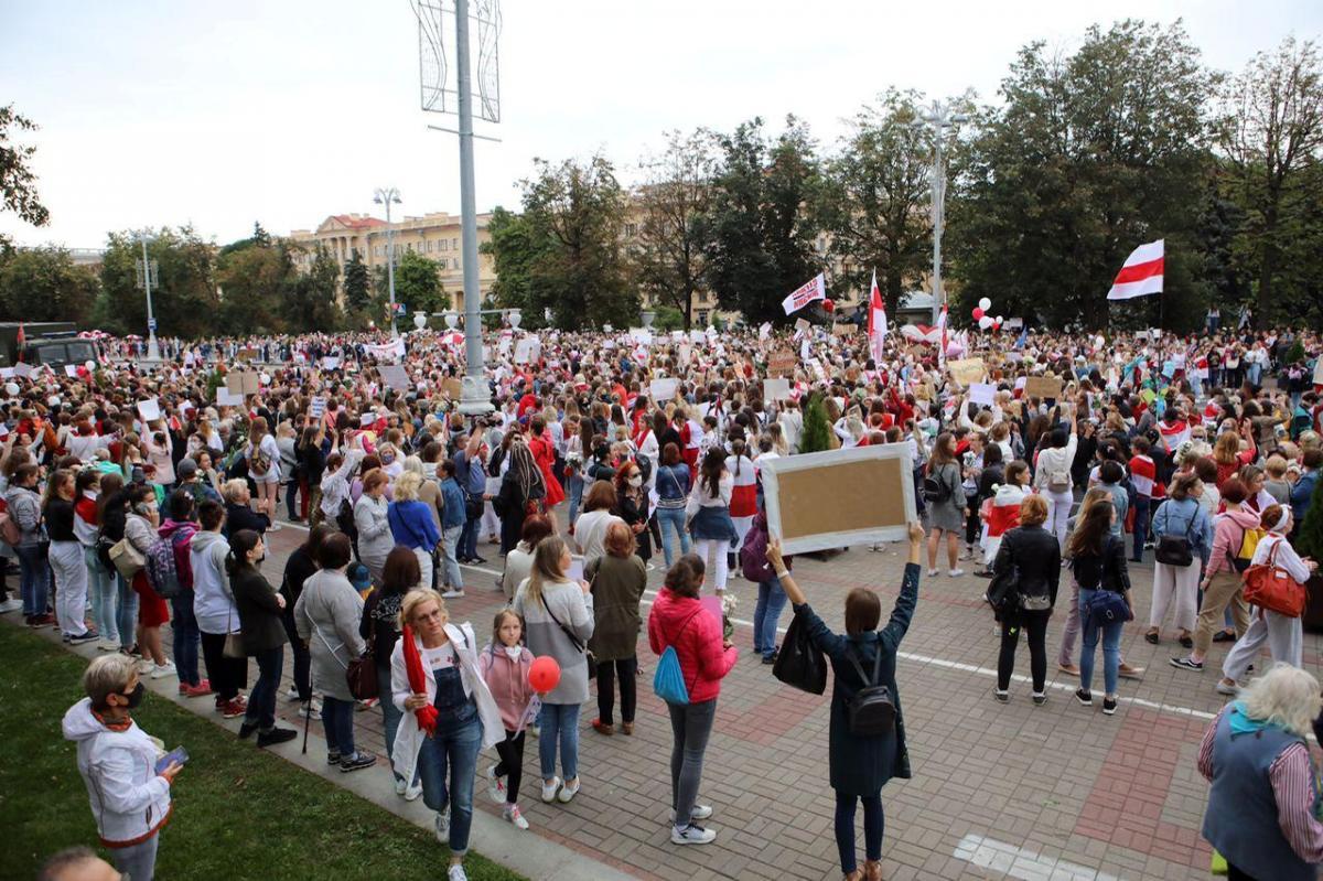 В Беларуси активизировались протесты после тайной инаугурации Лукашенко / фото REUTERS