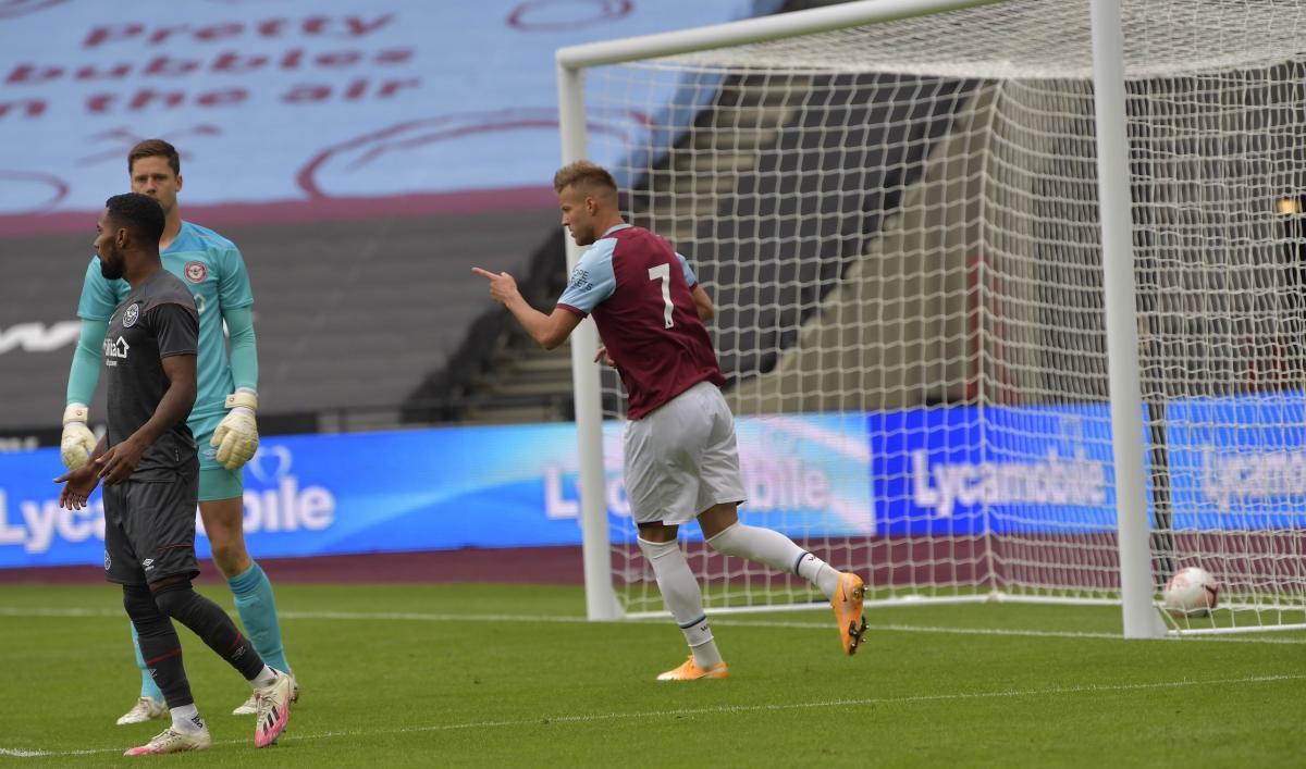 Андрей Ярмоленко забил гол в товарищеском матче / фото twitter.com/WestHam