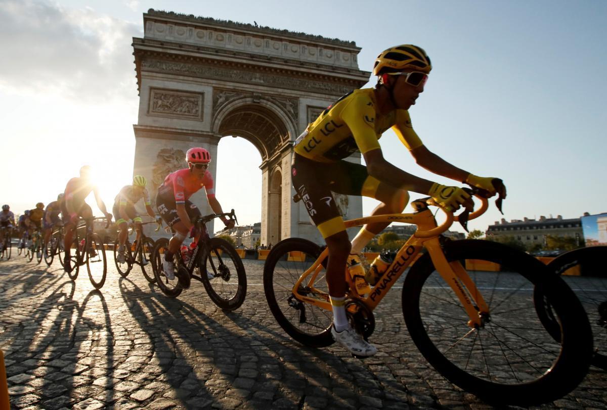 На старт вышли 176 велогонщиков/ Иллюстрация Reuters