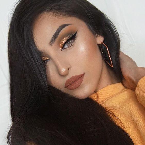 Модный макияж / фото pinterest.com