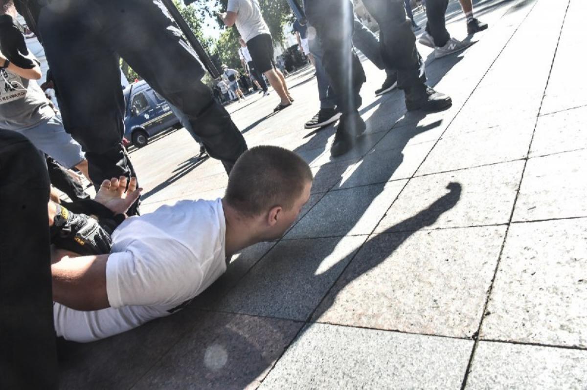 """Стали відомі подробиці бійки в Одесі / фото """"Думська"""""""