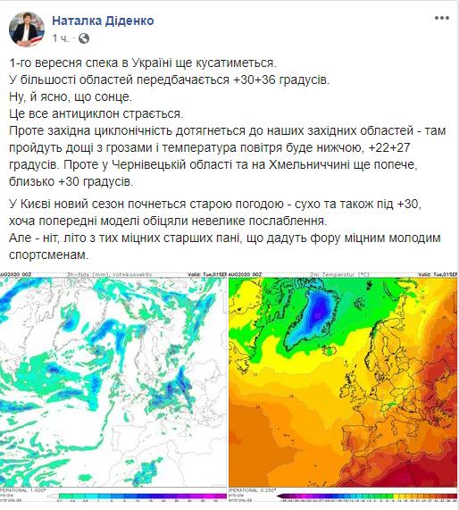Скріншот / facebook.com/tala.didenko