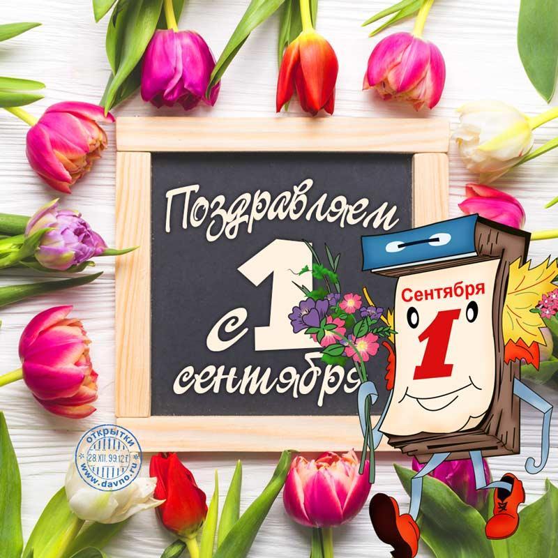 Поздравления с 1 сентября / davno.ru