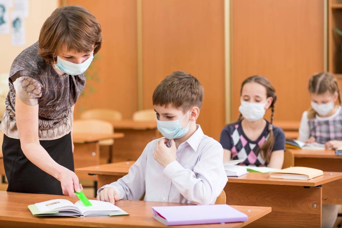 На период усиленного карантина младшие классы ушли на дополнительные каникулы / фото ua.depositphotos.com