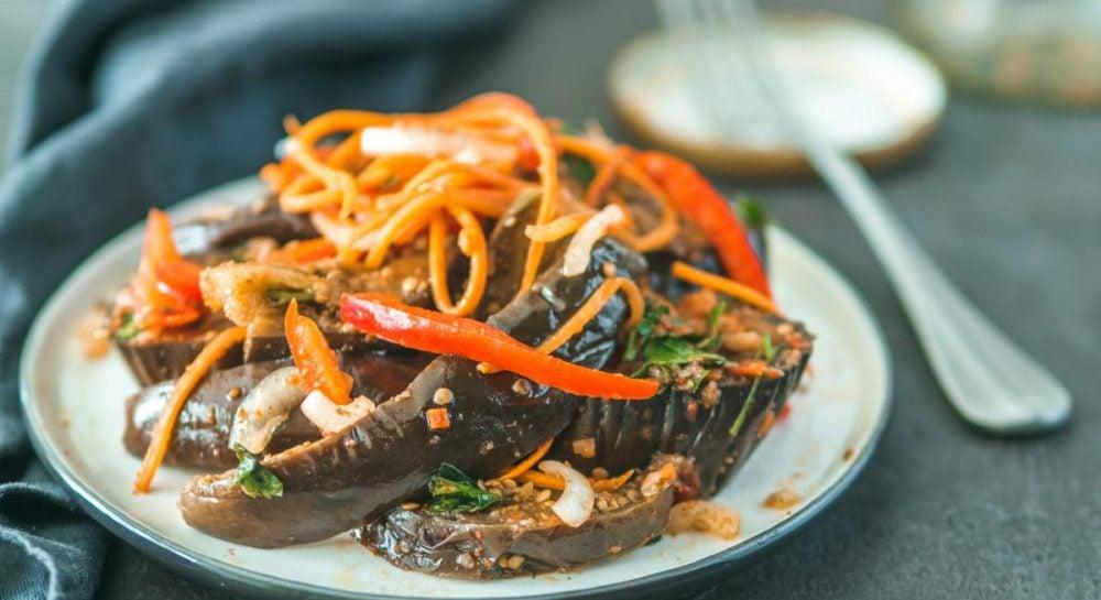 Баклажаны рецепт - как приготовить маринованные баклажаны рецепты салатов с баклажанами, перцем
