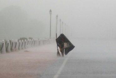 """Тайфун """"Хагулит"""" затопил Шанхай"""