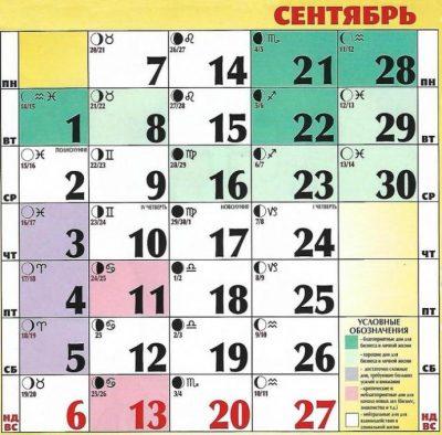 Lunnyj Kalendar Strizhek Na Sentyabr 2020 Goda