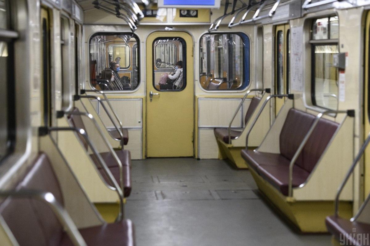 ОП прокомментировал ситуацию с транспортом в Киеве / фото УНИАН