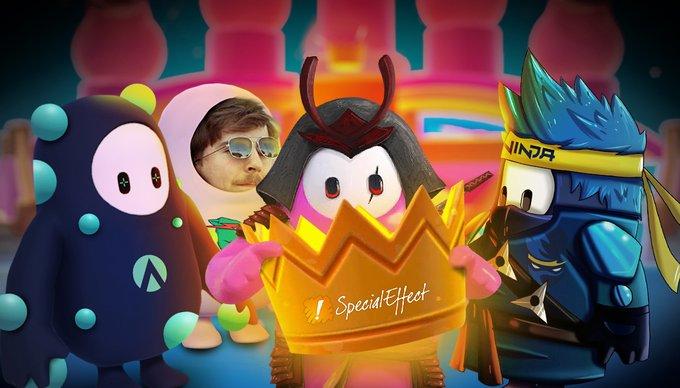 G2 Esports, Aim Lab, MrBeast і Ninja стали переможцями битви брендів у Fall Guys / twitter.com