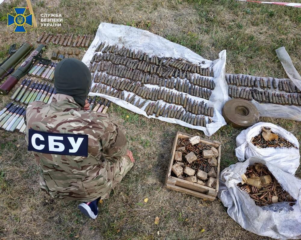 Изъятые боеприпасы уничтожат / фото СБУ