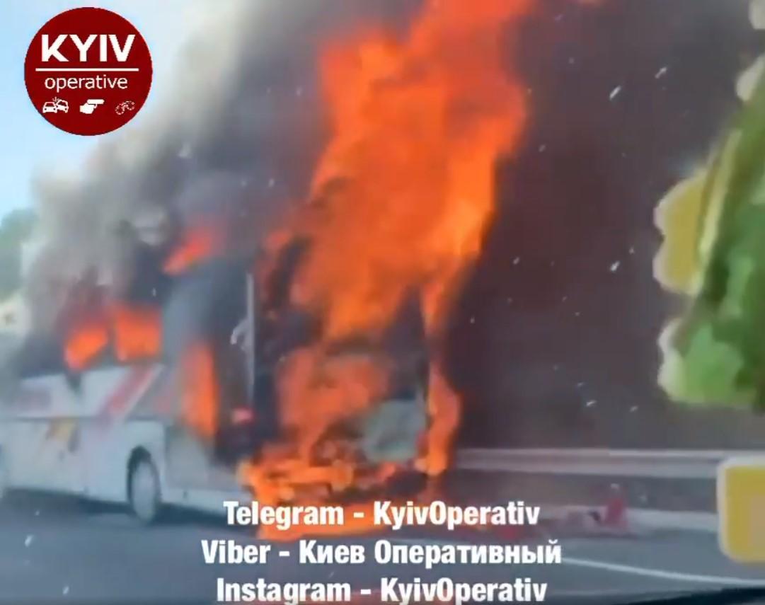 О причинах пожара на данный момент ничего не известно/ скриншот из видео