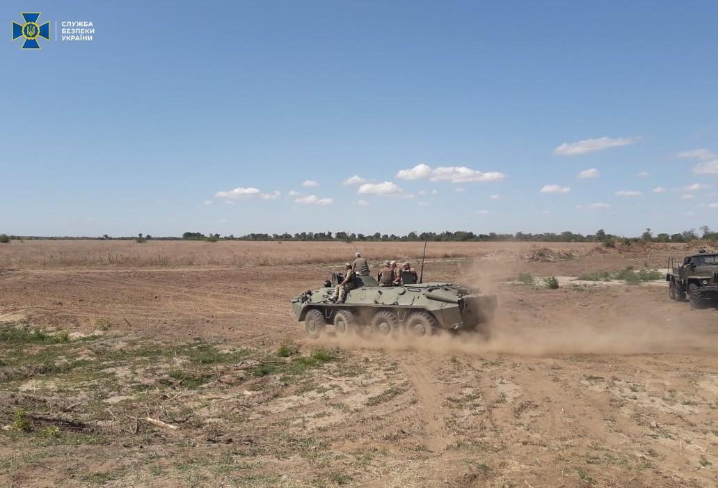 В Херсонской области провели антитеррористическую тренировку / фото СБУ