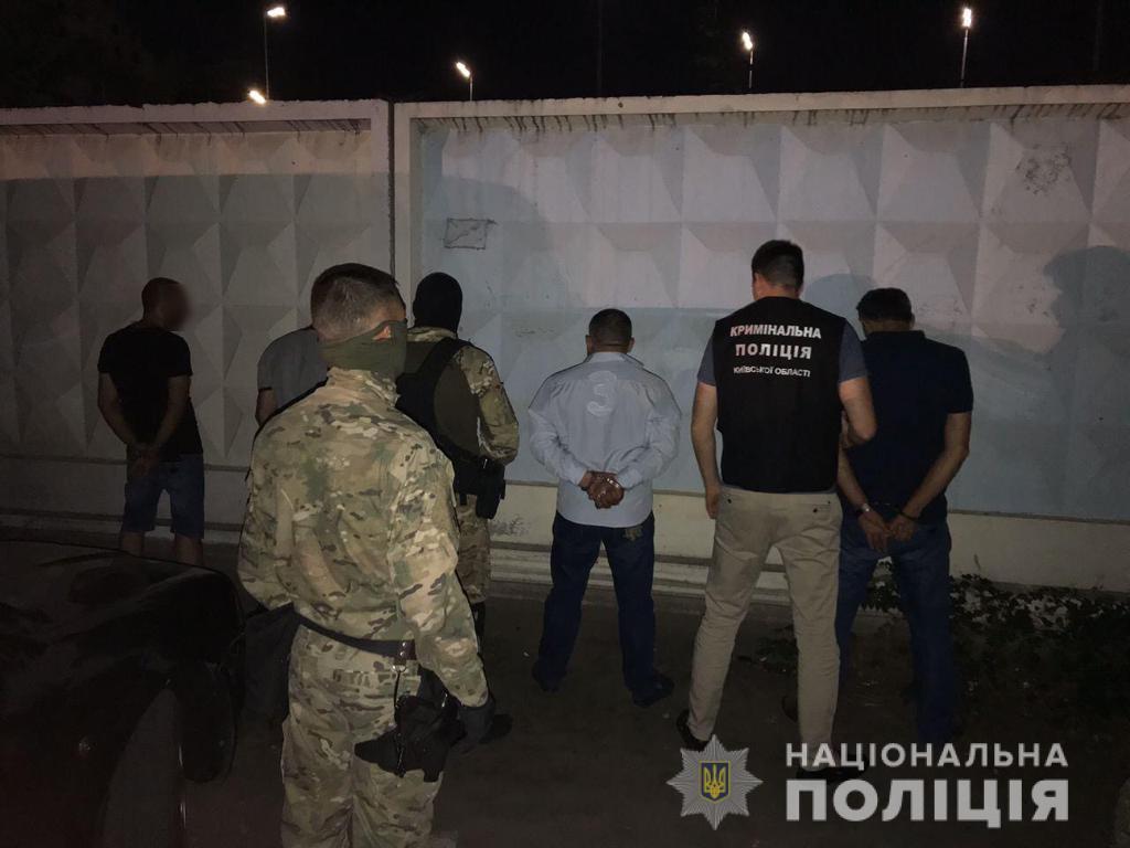 Иностранцев задержали / фото Нацполиция