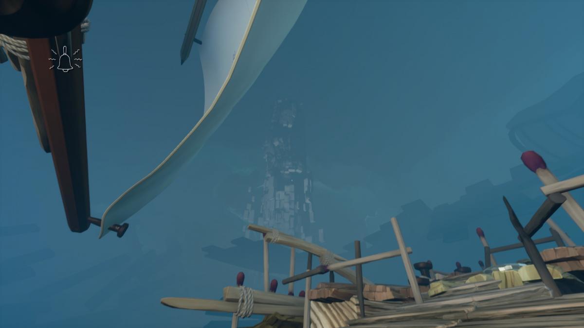 Вдали виднеется та самая Башня / скриншот