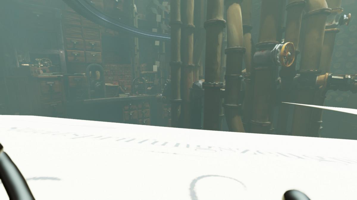 Полет на бумажном листке - жаль, что таких интересных моментов в игре не так уж и много / скриншот