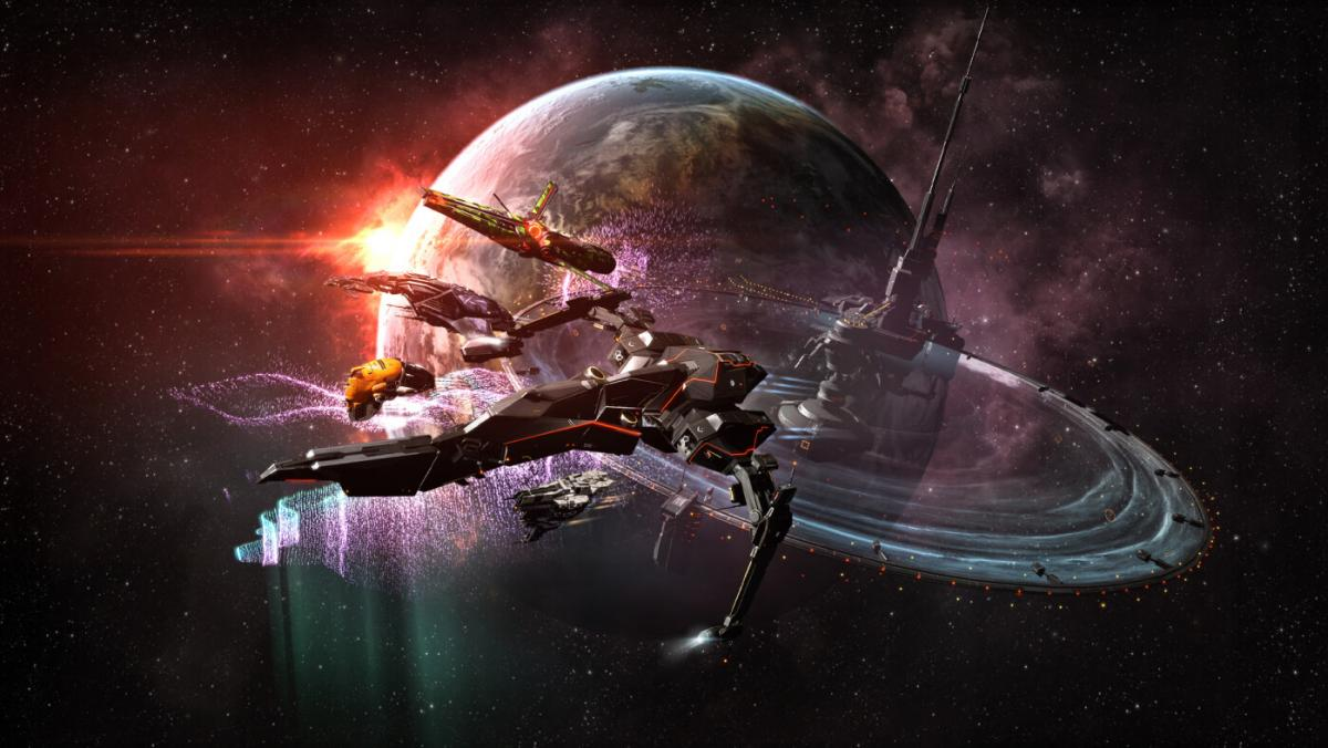 Игра EVE Online установила 2 достижения и оказалась в Книге рекордов Гиннесса /фото ccpgames.com