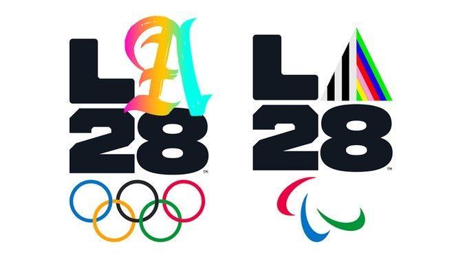 Версий логотипов будет 26 / фото la28.org