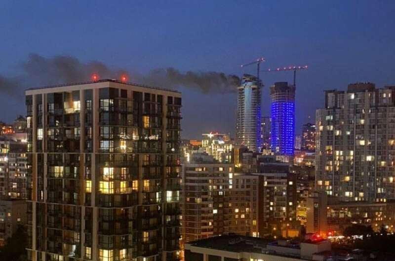 В 20:57 пожар ликвидирован на площади 15 метров квадратных / фото Vesti.ua