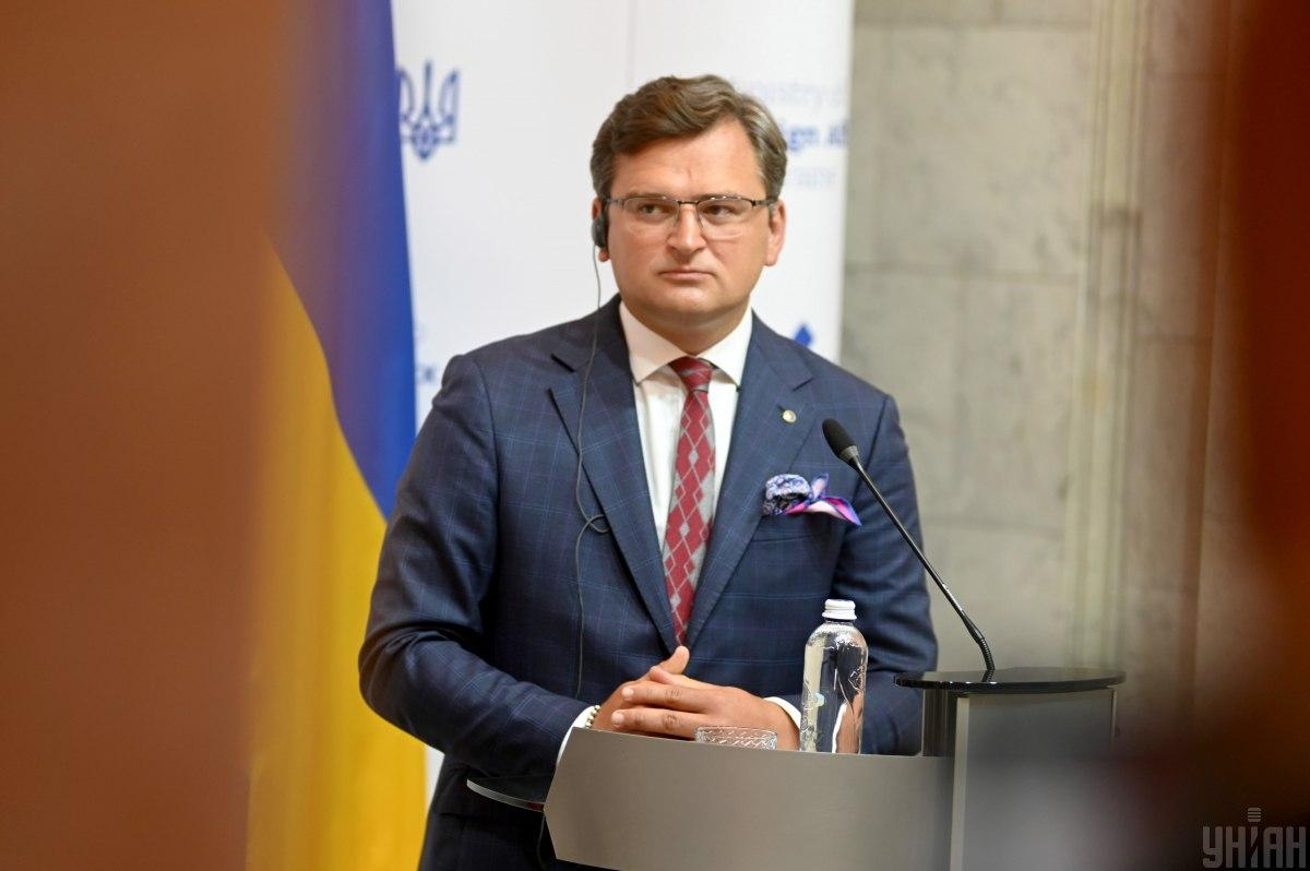 Украина должна быть готова к угрозе на границе, сказал Кулеба / фото УНИАН