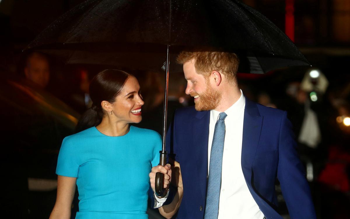 Меган Маркл и принц Гарри / фото REUTERS