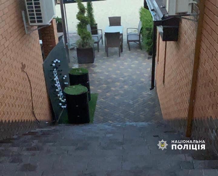 Инцидент произошел в кафе / Фото: Нацполиция