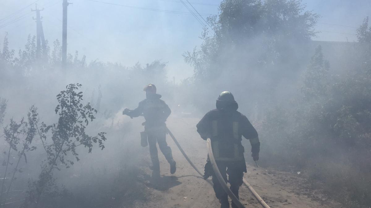 Луганщину охватили пожары / фото ДСНС