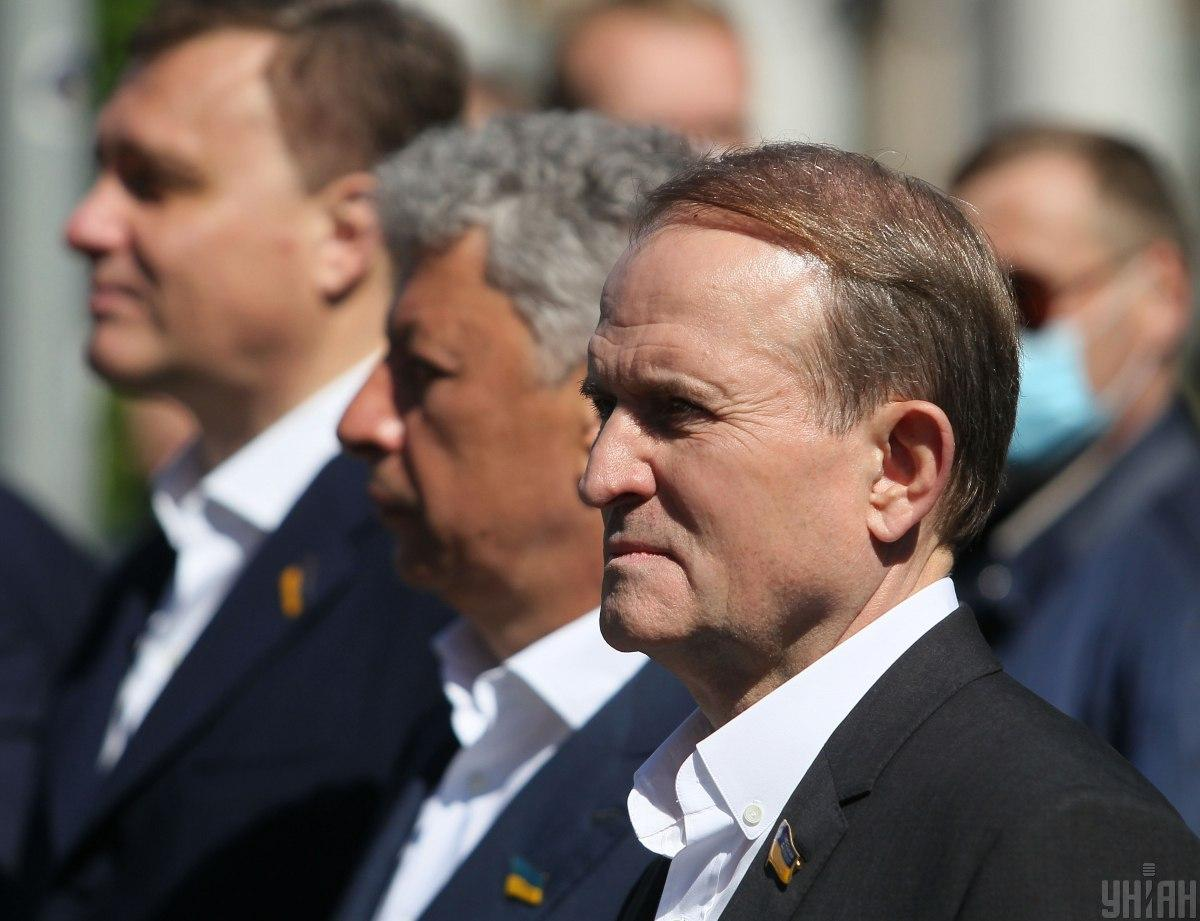 U.S. Embassy declares support for NSDC move to impose sanctions against Medvedchuk / Photo from UNIAN