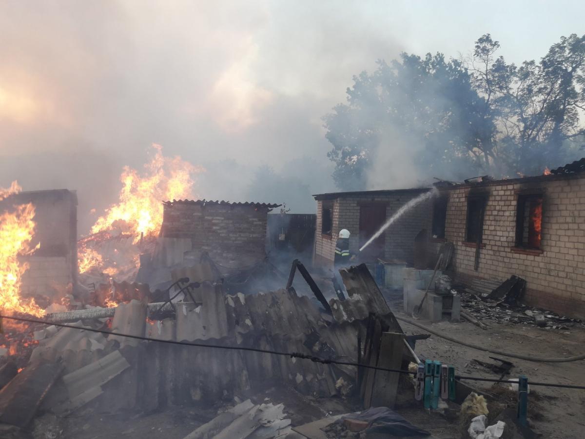 Восток Украины охватили масштабные пожары / фото ДСНС