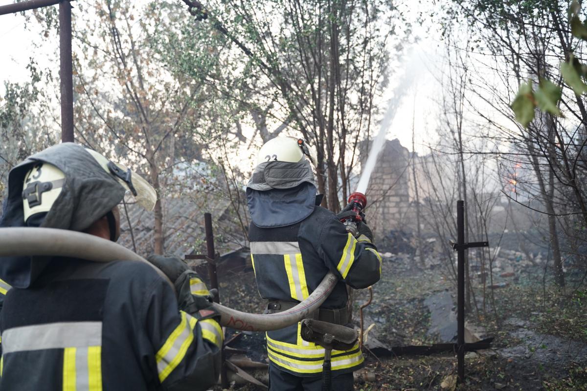 Через пожежі 33 особи залишилися без житла/ фото ДСНС