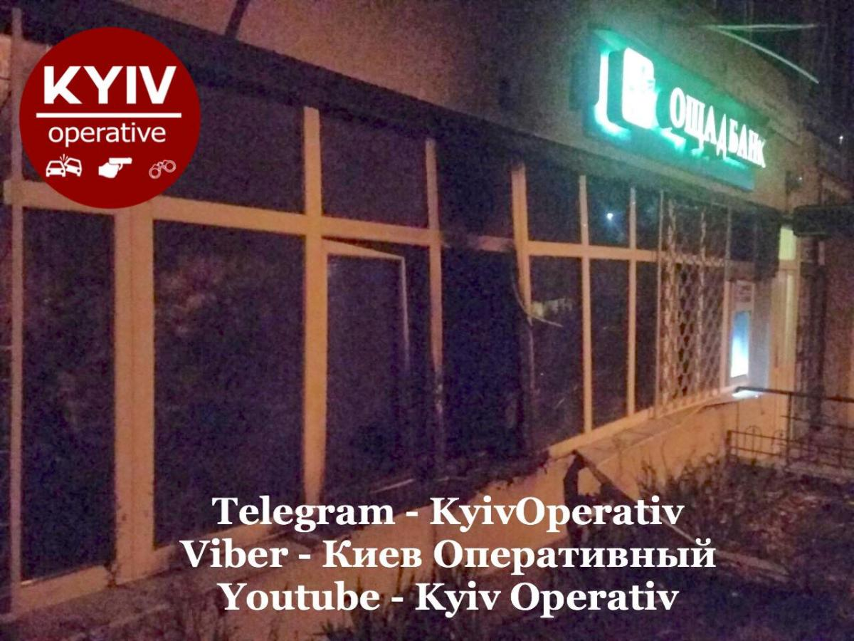 Инцидент произошел на Лесном проспекте / Киев Оперативный Facebook