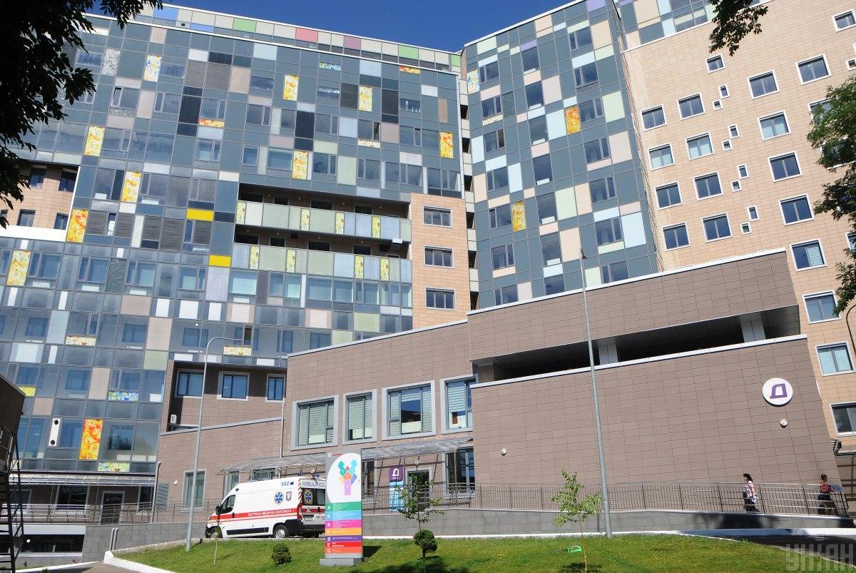 МВД подписало меморандум о сотрудничестве с детской больницей «Охматдет» / фото УНИАН