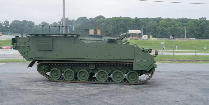 Новый БТРAMPVпоступит в армию США / Скриншот с видео