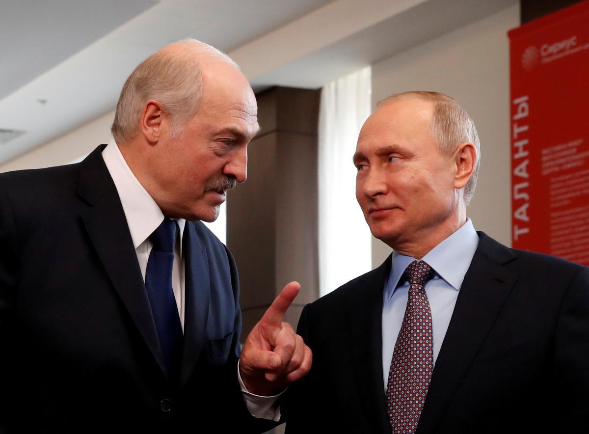 Росія, підтримуючи Лукашенка, розчаровує білорусів/ Фото: REUTERS