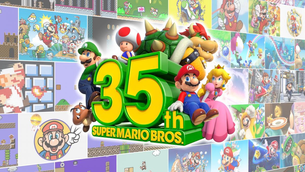 Super Mario Bros 35 / фото nintendo.com