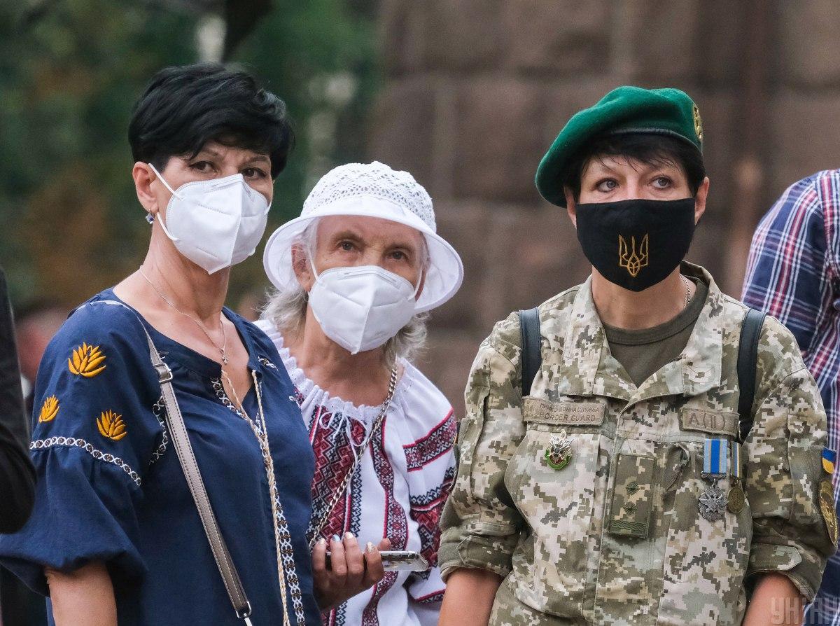 Ситуация с коронавирусом в Украине 4 октября / УНИАН