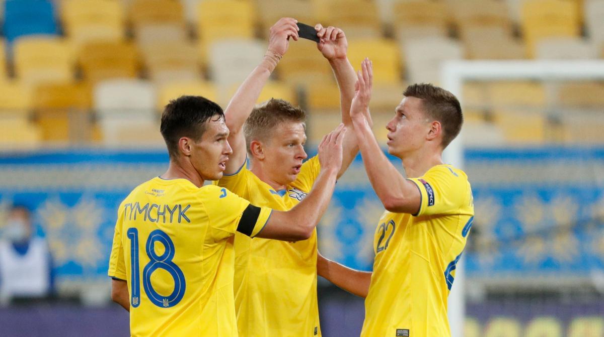 Збірна України здобула перемогу в складному матчі / фото REUTERS