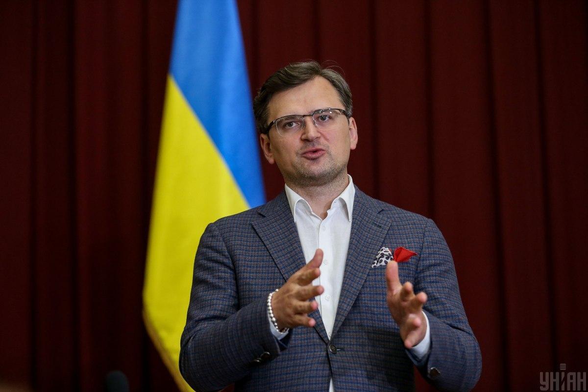 Кулеба заверил, что Украина никогда не откажется от Крыма и Донбасса / фото УНИАН