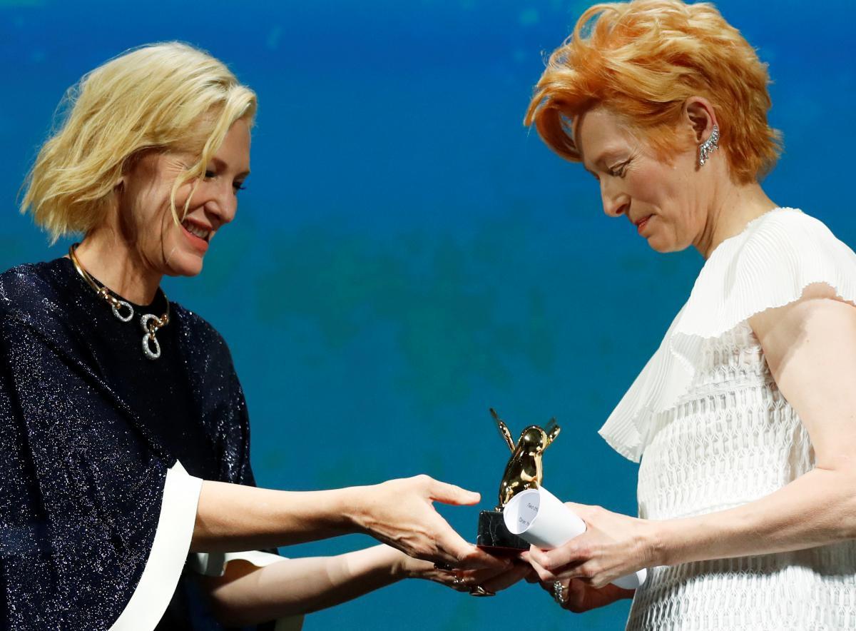 Кейт Бланшетт и Тильда Суинтон / фото REUTERS