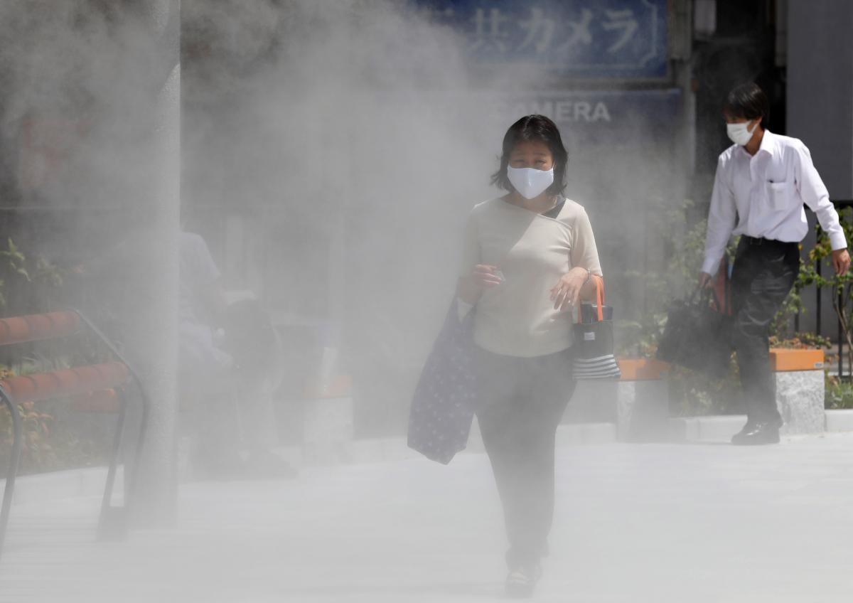 В Японии зафиксировали рекордную жару/ фото REUTERS