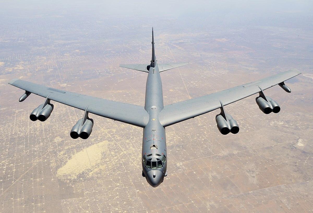 Стратегические бомбардировщика США впервые пролетелинад Украиной / фото из открытых источников