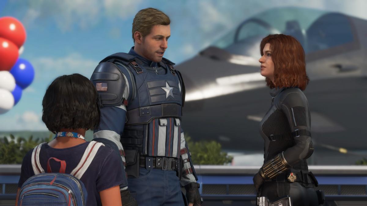 Первая глава в Marvel's Avengers / скриншот