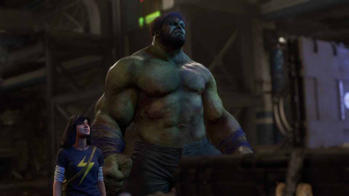 Лучшая сторонаMarvel's Avengers - это сюжетная кампания / скриншот