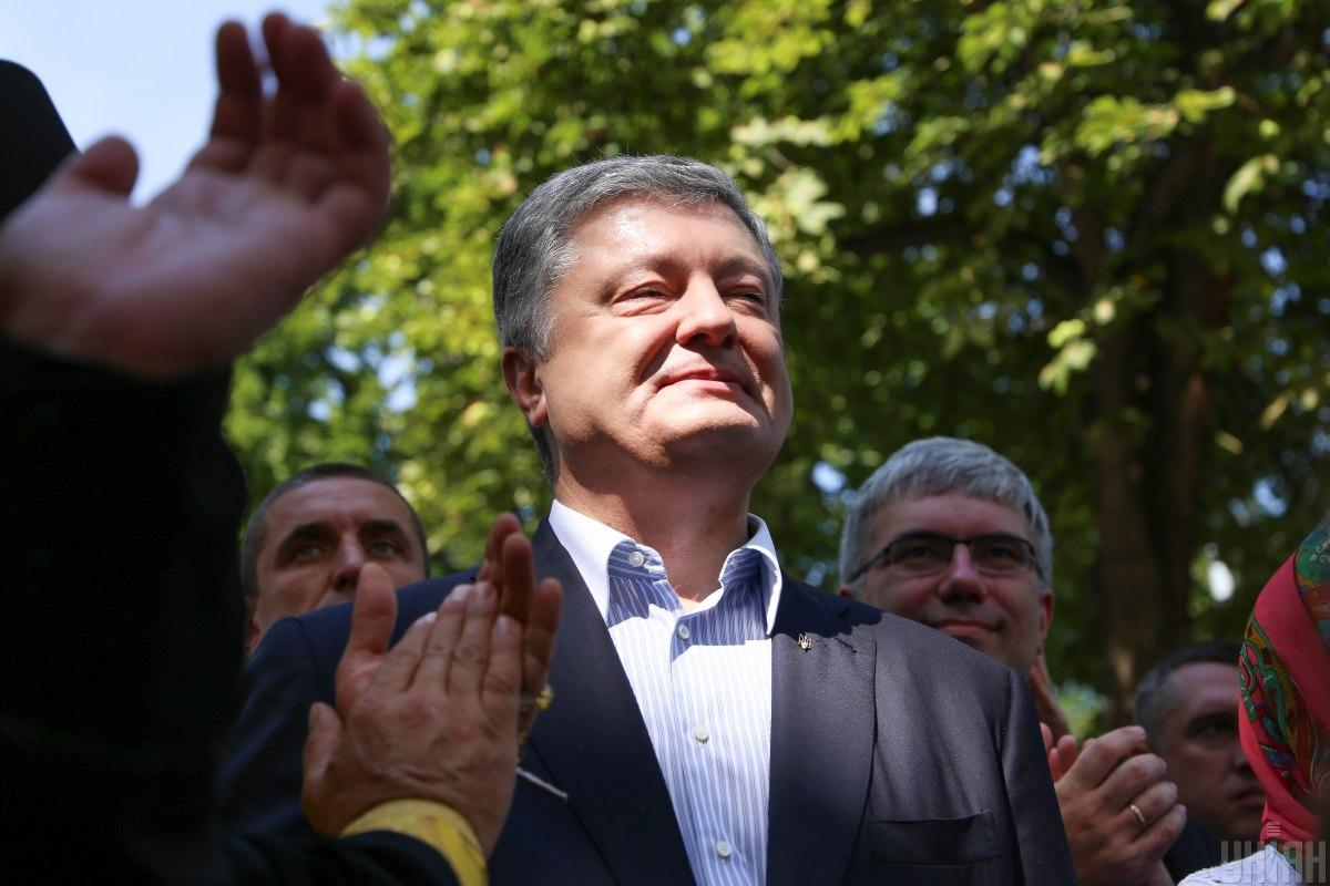 former Ukrainian President Petro Poroshenko / Photo from UNIAN