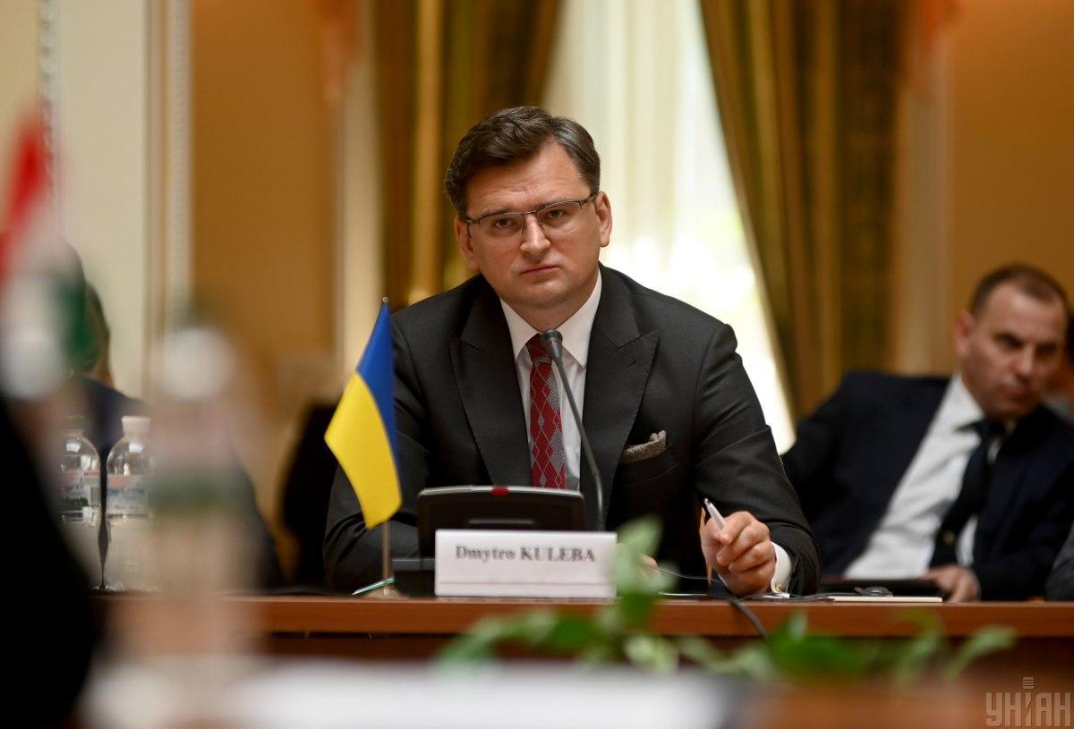 Кулеба закликав ЄС в нових санкціях відключити Росію від SWIFT/ фото УНІАН
