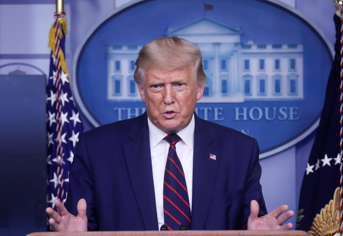 Телеграм-канал Трампа позначили як шахрайський / REUTERS
