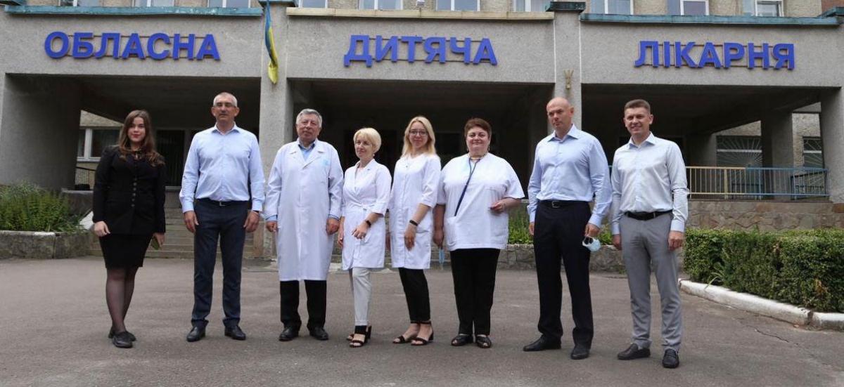 Игорь Палица посетил Тернопольскую областную клиническую больницу