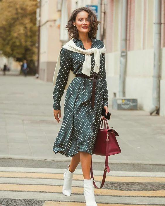 Осіннє плаття / фото pinterest.com