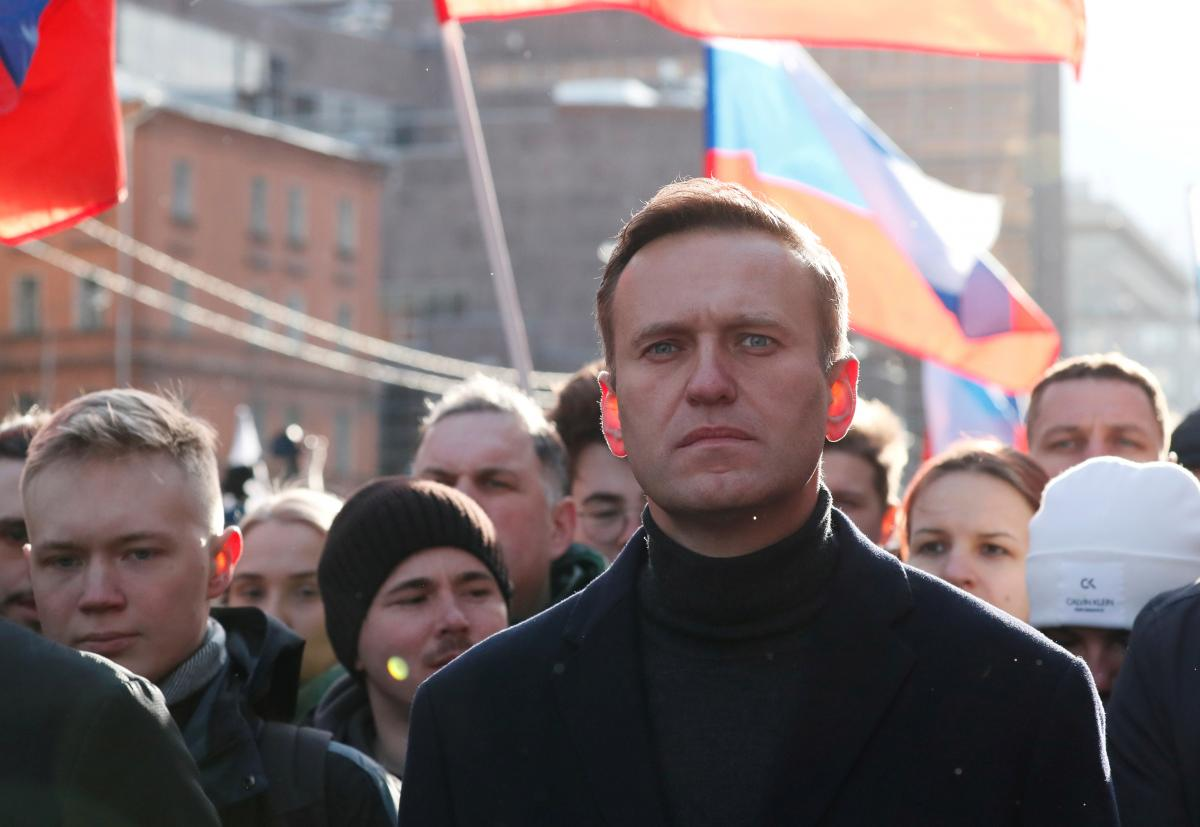 В Бундестаге считают неприемлемым опрос Навального следователями РФ / фото REUTERS